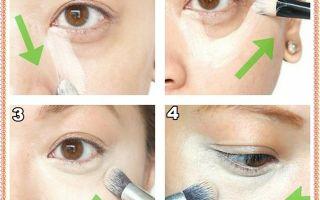 Как скрыть синяки под глазами: способы маскировки темных кругов с помощью макияжа