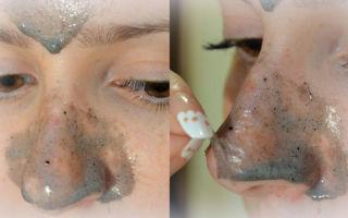 Желатиновая маска от черных точек на лице: как сделать из желатина в домашних условиях, отзывы