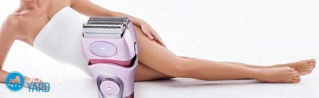 Электробритва для женщин: как выбрать лучшую женскую модель