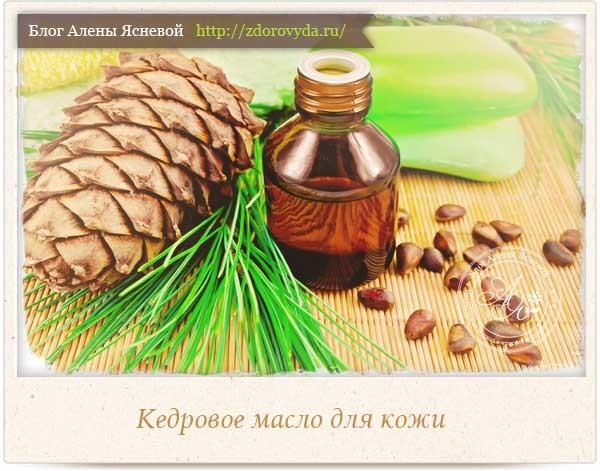 Кедровое масло для лица — ТОП-8 лучших способов применения