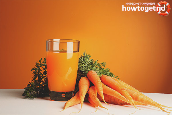 Морковный сок для загара: зачем нужен, как применять