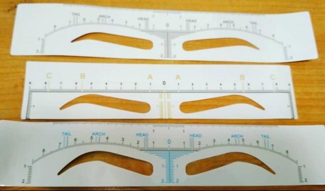 Трафареты для бровей — как выбрать или сделать своими руками, как правильно пользоваться