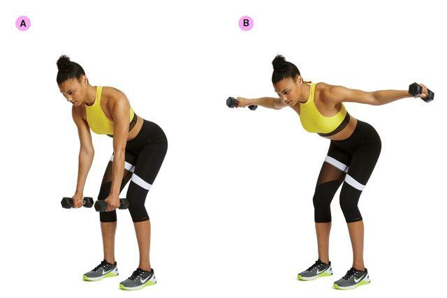 Как убрать жир с подмышек — упражнения для похудения подмышечной зоны рук