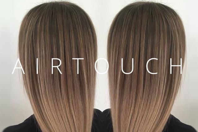 Техника окрашивания волос airtouch: что это такое, в чём её преимущества, отличия аир тач от мелирования и омбре, кому подойдёт, фото