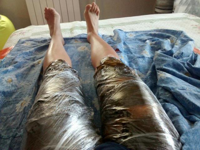 Холодные обертывания от целлюлита и для похудения