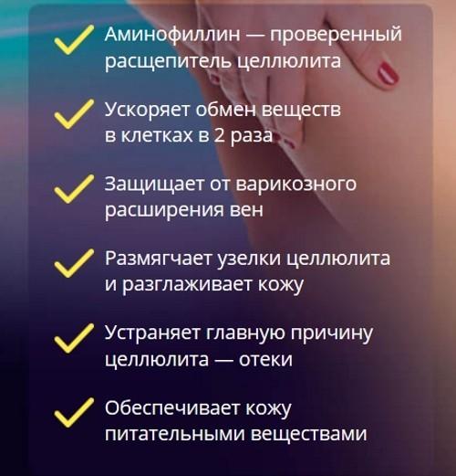 Эуфиллин от целлюлита: свойства, рецепты, пропорции, фото до и после, отзывы