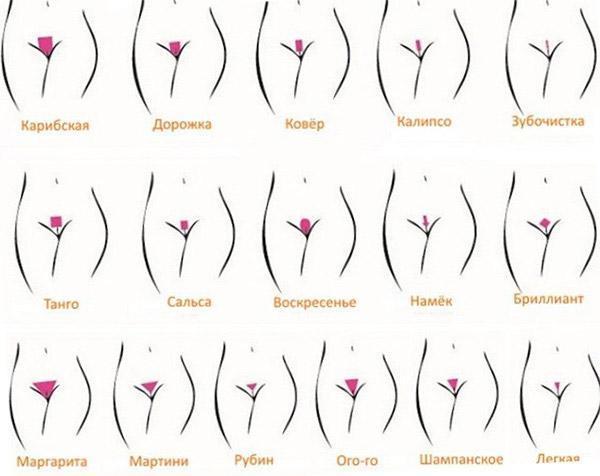 Женская интимная стрижка: виды причесок на лобковой части, как сделать в домашних условиях пошагово, фото и видео