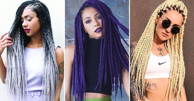 Как вплетать канекалон в косички: фото афрокос, брейдов и других кос, рекомендации по плетению, видео и отзывы