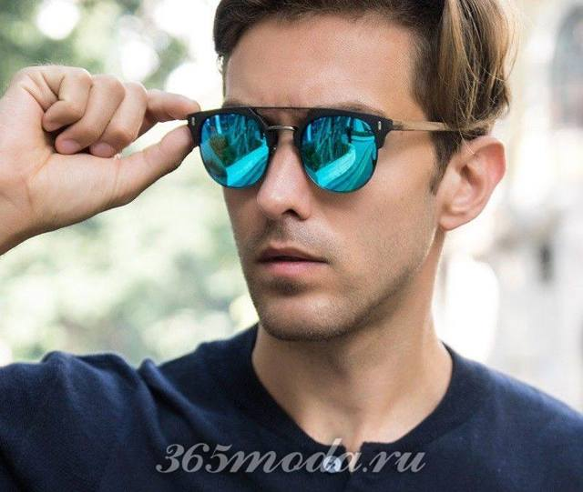 Очки солнцезащитные мужские: тренды 2019, фото стильных и брендовых аксессуаров