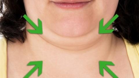Как убрать щеки и второй подбородок в домашних условиях: как быстро избавиться от жира, видео