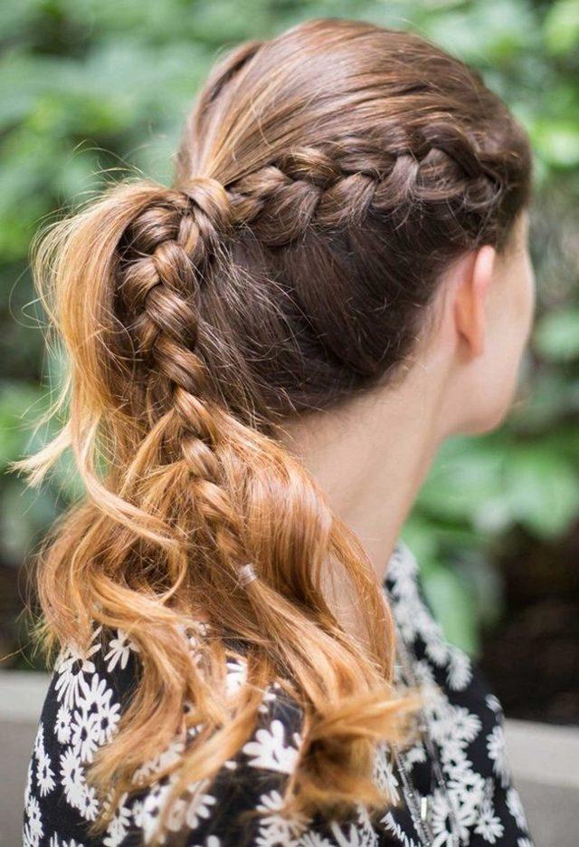 Красивые косы в картинках и фото