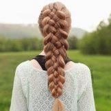 Коса из 4 прядей: схема плетения, пошаговая инструкция для начинающих, варианты повседневных причесок, фото и видео