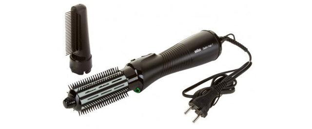Фен-щетка для волос с вращающейся и неподвижной насадкой: какая лучше для укладки волос, обзор, отзывы