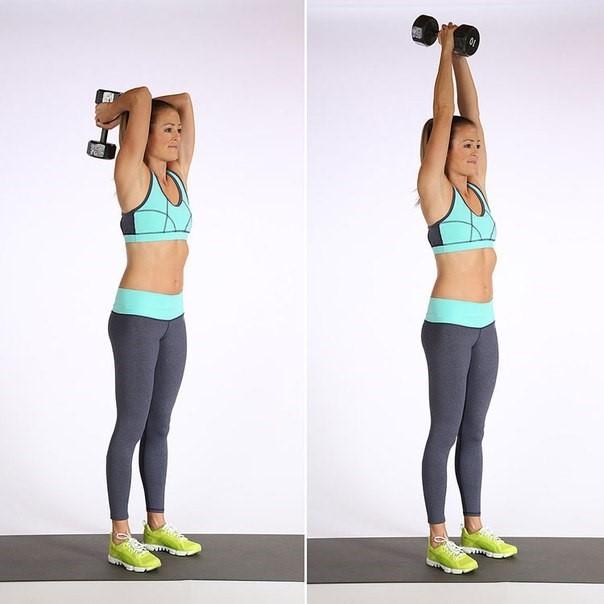 Упражнения для похудения рук и плеч — какие и как правильно делать в домашних условиях