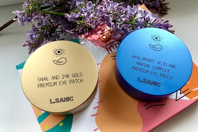 Корейские патчи для глаз, в том числе с золотом, улиткой, чёрные, гидрогелевые, отзывы