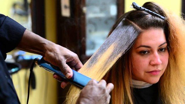 Как правильно выпрямить волосы утюжком самой в домашних условиях, видео
