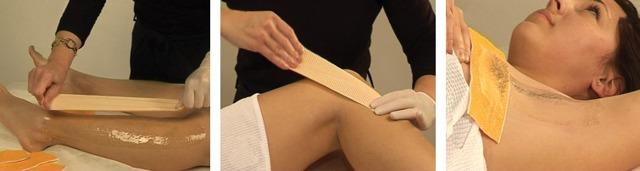 Бандажная техника шугаринга: как выполняется, видео, уход за кожей после процедуры