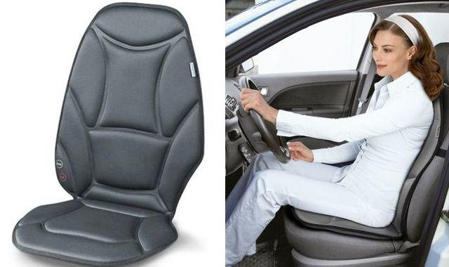 Автомобильные массажеры для спины и шеи: накидки на сиденье в помощь водителю