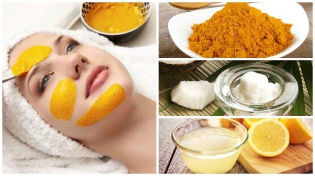 Маска из куркумы для лица: средство от морщин и для омоложения, рецепты, отзывы