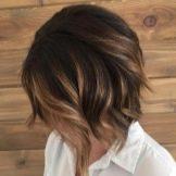 Окрашивание шатуш на тёмные и чёрные волосы: длинные, средней длины и короткие, каре, как сделать в домашних условиях, фото до и после