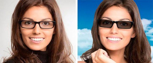 Фотохромные очки хамелеоны с диоптриями и без них: как правильно выбрать и проверить