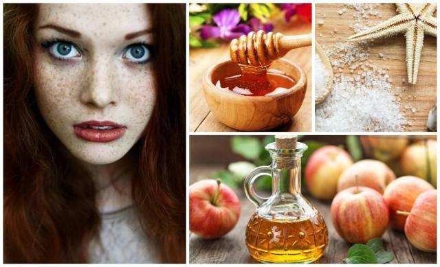 Народные средства от пигментных пятен на лице с чистотелом, яблочным уксусом и другие: лучшие рецепты, отзывы
